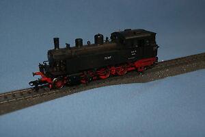 Marklin-37133-DR-Tender-Locomotive-Br-75-Black-Digital-with-Chimney-Bridge