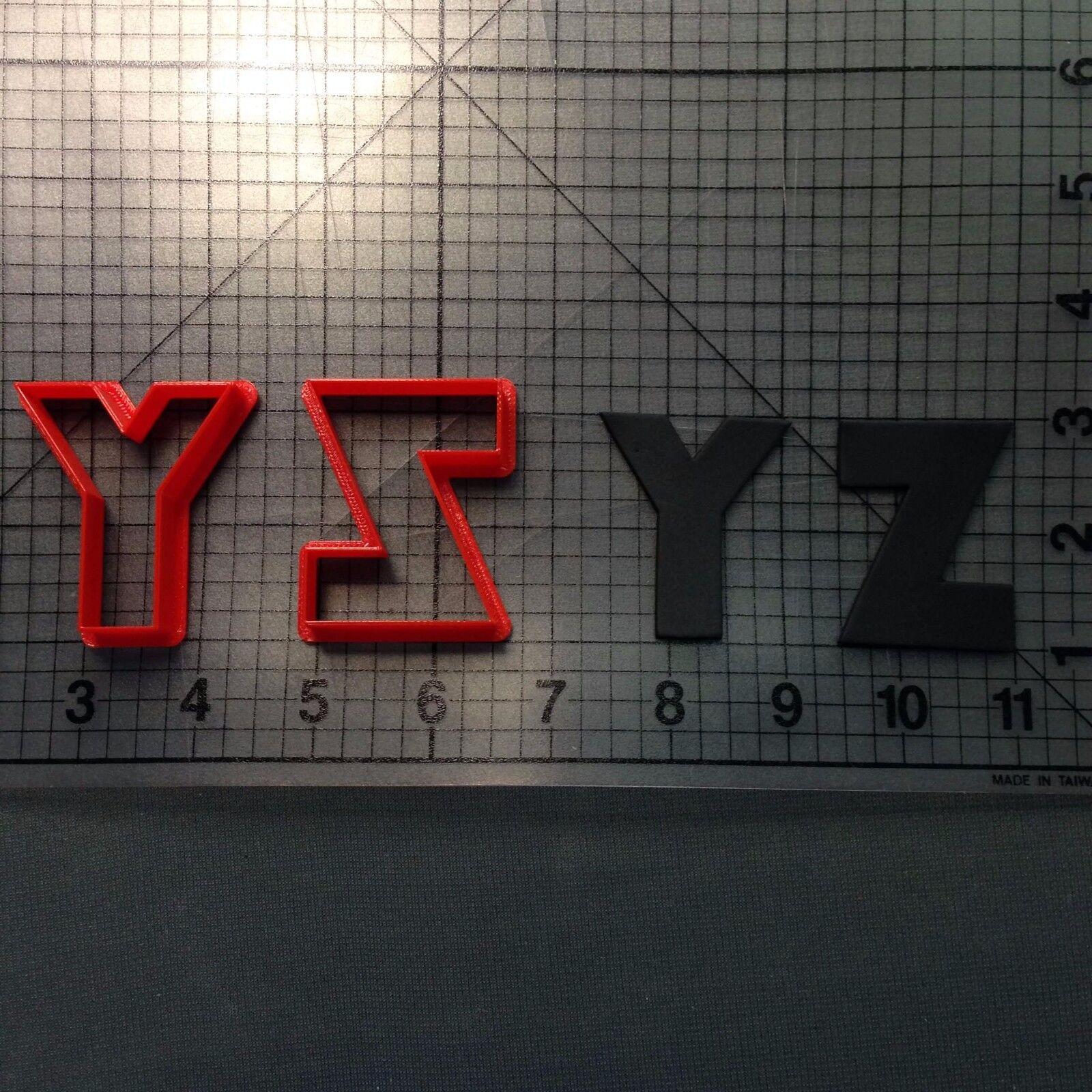 Bauhaus 93 Font Number Cookie Cutter Set