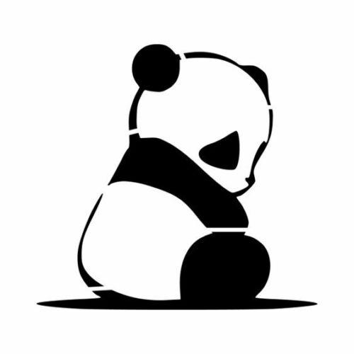 A4//A5//A6 Panda Stencil