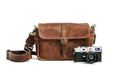 "ONA ""The Bowery for Leica"" Cognac Leather Camera Bag -> Handcrafted excellence"
