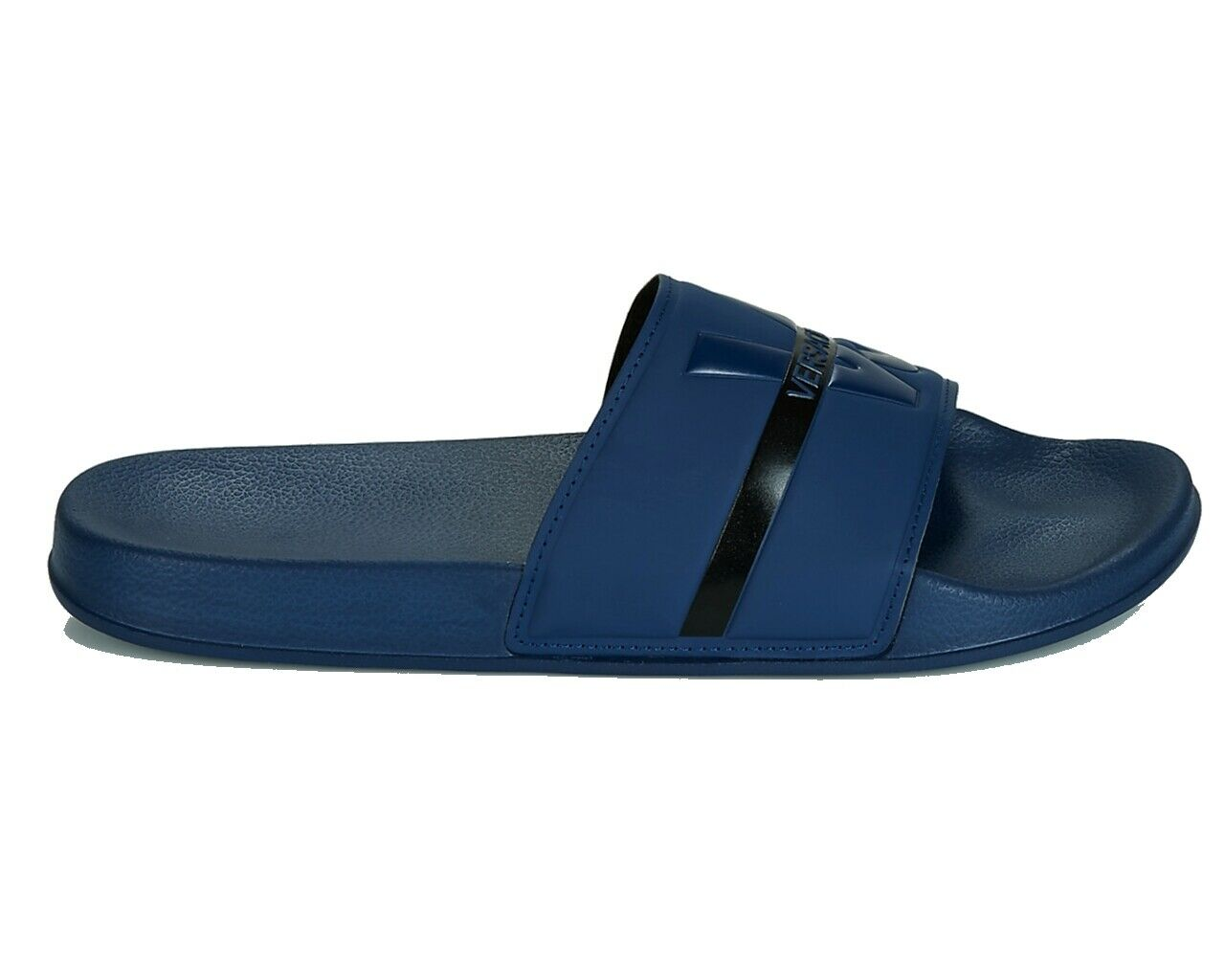 VERSACE Jeans gtbsq 3 Fund VJ cursors Navy Summer Sandals Beach Pool