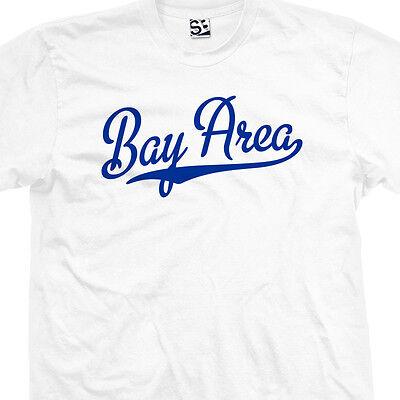 Bay Area Script & Tail T-Shirt - SF Baseball Cursive OAK - All Sizes & Colors