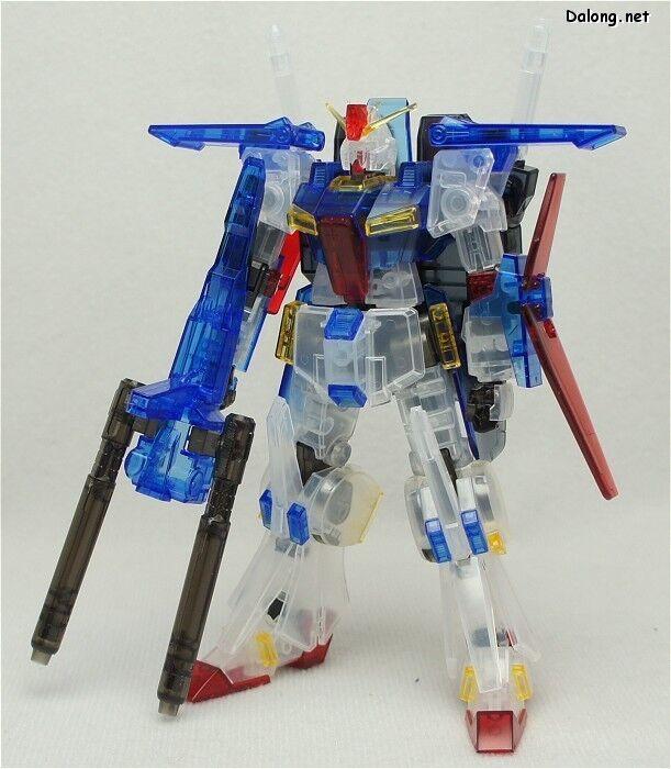 """""""gen65533;, 65533; Gunpla EXPO begränsad road 65533;65533; HGUC 1  144 MSZ - 010 ZZ Gundam Clear Färg Version F  S"""