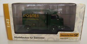 Citroen Type H Hy La Poste Francaise Postes 1/43 Norev Deutsche Post Philatelie