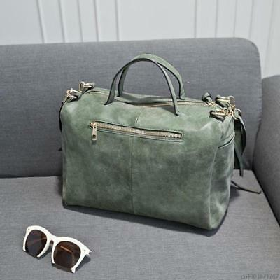 Fashion Female Shoulder Bag Nubuck Leather women handbag Vintage Messenger Bag