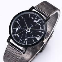 Women Mens Luxury Stainless Steel Watch Quartz Military Sport Dial Wrist Watches