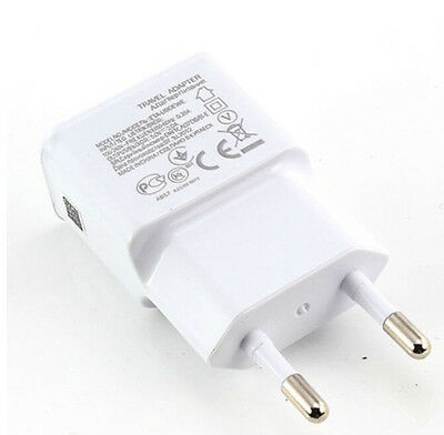 2A EU Plug USB Wall Charger Adapter For Samsung Galaxy S4 S3 Note 3 2 GO CA