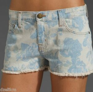Shorts Cut Shreded Elliott Current Hem taglia fantasia 28 Nwt Denim Off 168 S871T1a