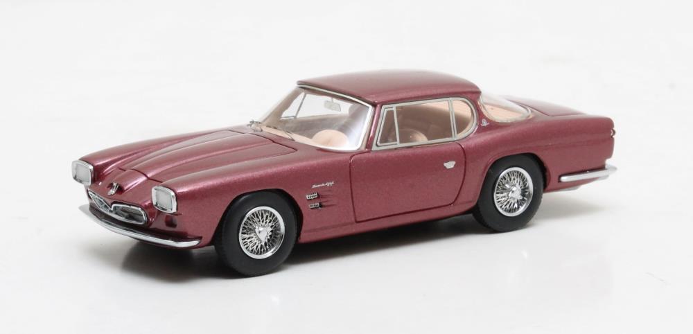 Maserati gt frua  rot metallic  5000 1963 (matrix 1 43   mx41311-101)