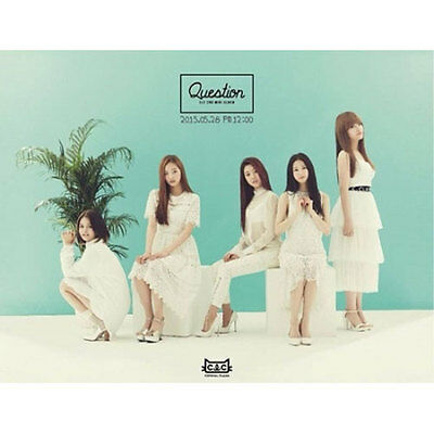 CLC - [QUESTION] 2nd Mini Album CD+Photo Booklet+Post Card K-POP Sealed CUBE