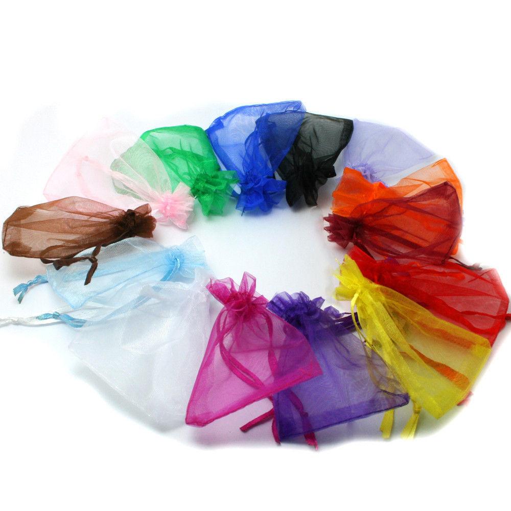 Mixed Sheer Organza Wedding Party Favor Gift Candy Bag Pouch 7x9//12x9//13x18CM