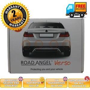 Road-Angel-Verso-parking-sensor-system-GLOSS-BLACK-parking-aid-towbar-compatible
