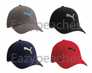 PUMA-Icon-Baseball-Cap-Unstructured-Relaxed-Fit-Golf-Tour-Soccer-Hat-Cat-Logo