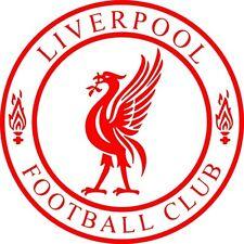 Liverpool Circular football car bike window  vinyl sticker decal 4x4 bumper