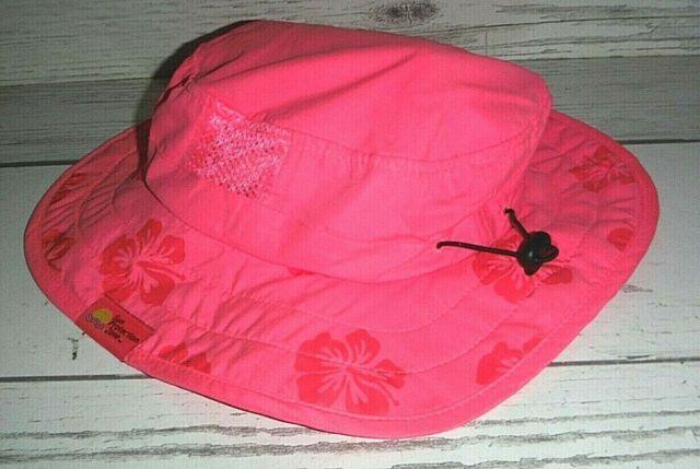 Adjustable Child Safari Beach Park Picnic Hat Sun Protection Zone Kids UPF 50