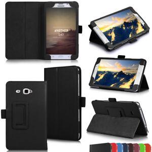 Para-Samsung-Galaxy-Tab-a-7-034-Tableta-Piel-Soporte-Funda-Tipo-Libro-T280-amp-T285