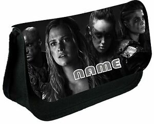 THE 100 #1 Grey Scale PERSONALISED PENCIL CASE