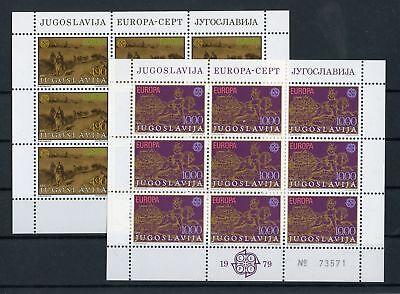 Jugoslawien Nr.1787-1788 ** Kleinbogen Europa 133209 Postwesen !!! Kunden Zuerst