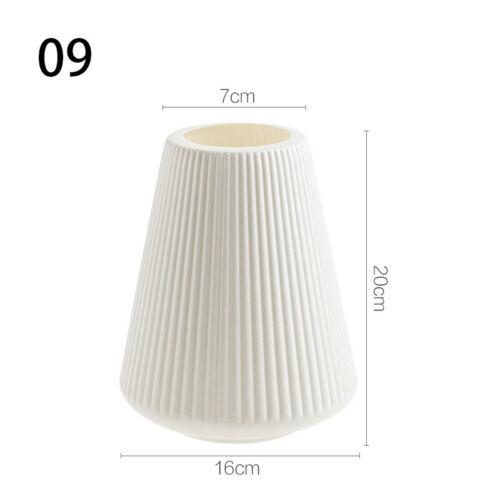 Nordic Flower Vase Decoration Home Plastic Vase Imitation Ceramic Flower Pot
