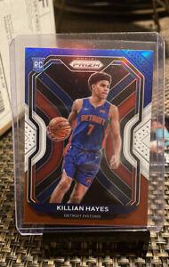 2020-21 Panini Prizm Killian Hayes Rookie 🔥📈 Red White & Blue Pistons RC #270