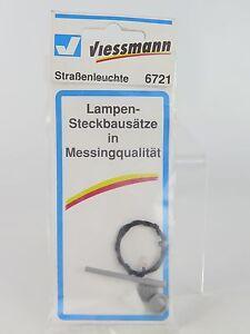 6721-VIESSMANN-ECALA-H0-KIT-MONTAJE-FAROL-MODERNO-49MM-HO-H0-Street-light
