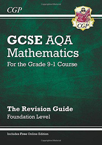 Neuf Gcse Maths Aqa Revision Guide: Teint - Pour The Grade 9-1 Course (Avec O