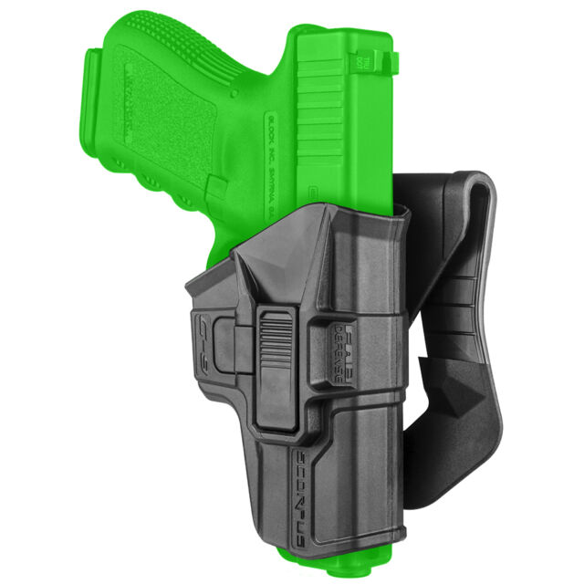 Fab Defense Level 2 Trigger Retention Holster for 9mm Glock 17 19 26 34 G-9R