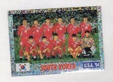 figurina USA 94 SERVICE LINE NUMERO 171 SUD KOREA SQUADRA