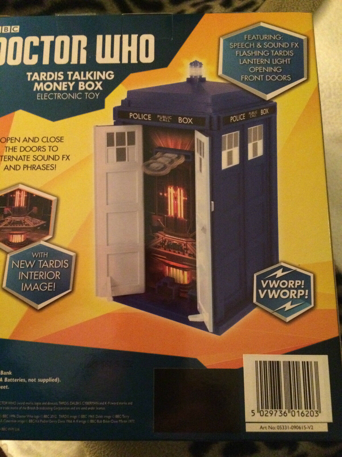 Doctor who  12th doctor doctor doctor tardis talking  money box 4dcec4