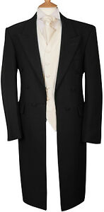 steampunk steampunk noir taille moyen tr Manteau coton noir en petit I6ng7f