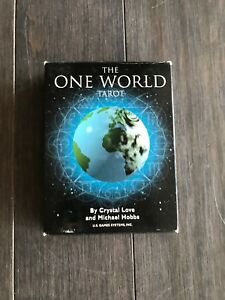 Details about The One World Tarot Card Deck - Crystal Love & Michael Hobbs
