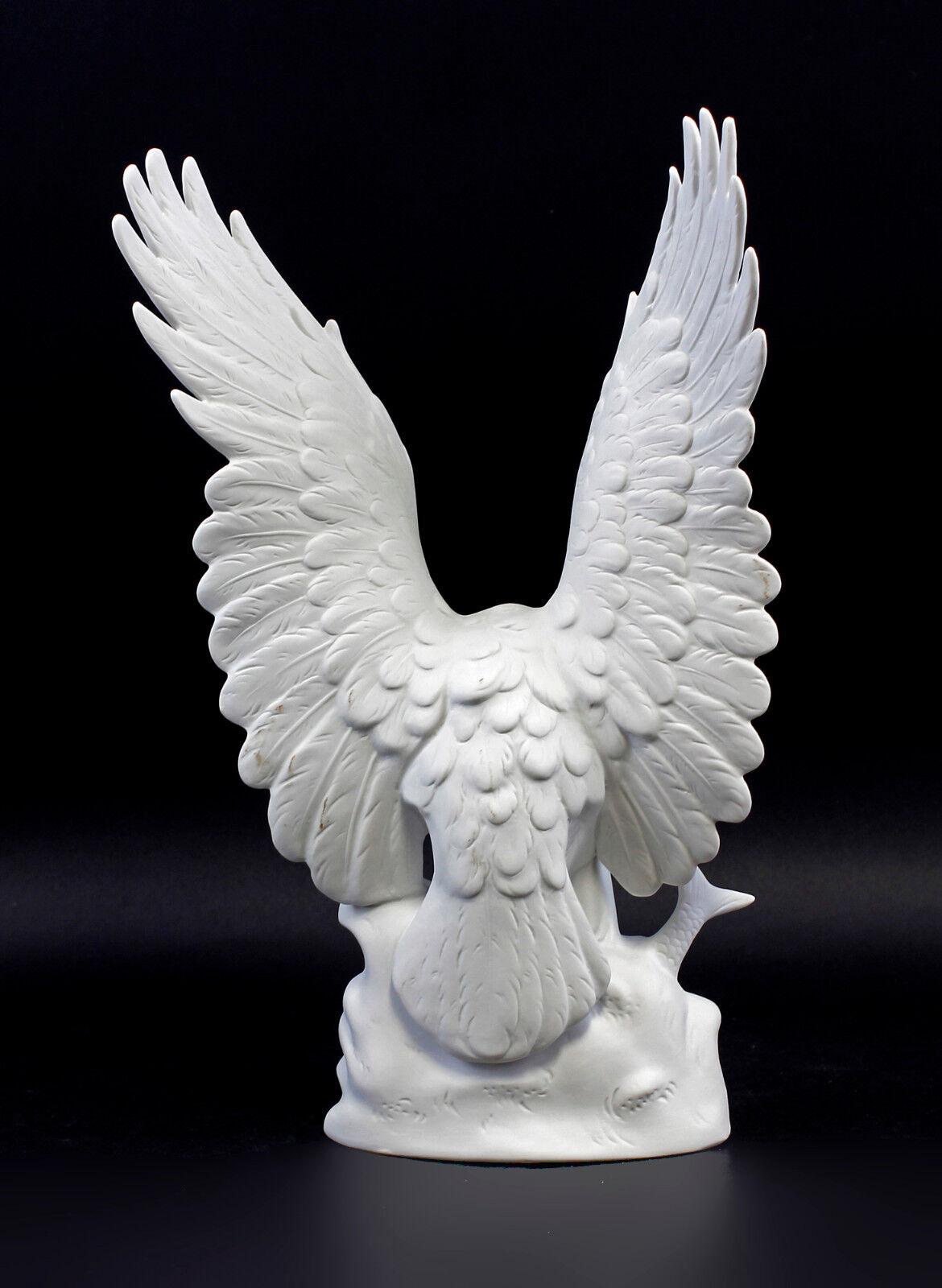 Porzellan Figur Vogel Vogel Vogel Adler Seeadler Wagner & Apel 20x13x31cm 9942547 69e69e