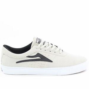 Détails sur Lakai Sheffield Skateboard Chaussures blanc en daim NEUF Entièrement neuf dans sa boîte RRP £ 60 afficher le titre d'origine