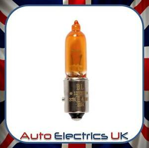 Details About Halogen Amber Indicator Light Bulb Repl Hy21w Fits Audi A1 Hyundai Grandeur