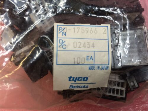 175966-2 TYCO MULTILOCK PLUG HOUSING 2X8 16POS 4 PIECES