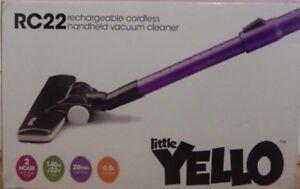 Little-YellO-RC22-Dual-Cyclone-Li-on-Cordless-Vacuum-140W-with-Accessory-Kit