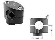 Coppia Riser Neri nero Universali Manubrio da 28 mm DUCATI MONSTER 696 796