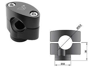 40 Accossato 28 mm KTM SUPERDUKE 1290 Coppia Riser Neri Rialzati