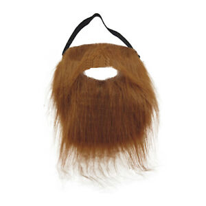 Brown-Trimmable-Beard-amp-Mustache-Fake-Fur-Costume-Accessory