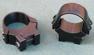 ZASTAVA-MP-22-scope-rings-mounts-1-inch-Quality-STEEL-GLOSS-BLUE