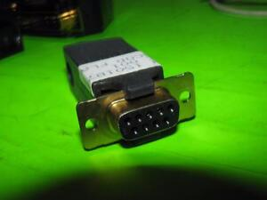 Vintage-Amp-Stecker-Teil-1501873-EG-001-escod-Female-Serial-Port-Connector-IBM