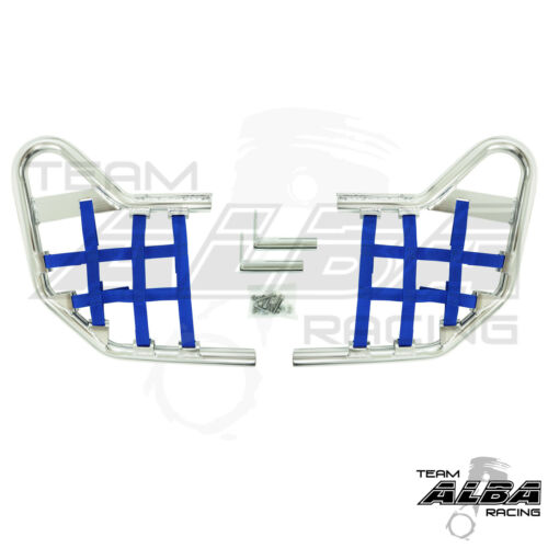 Yamaha YFZ 450 YFZ450   Nerf Bars   Alba Racing     Silver//Blue 199 T1 SL