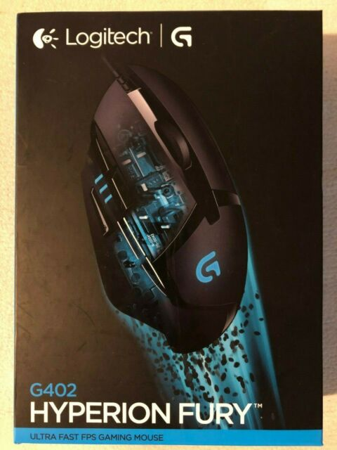 Logitech G402 Hyperion Fury 910-004070 Ultra Fast Wired Gaming Mouse BRAND NEW !