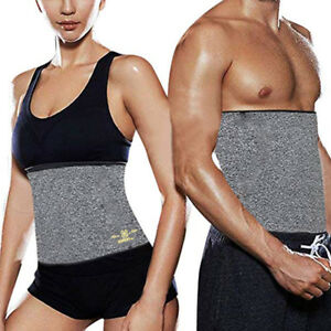 2e7b0f2af52f5 Men Neoprene Sauna Thermo Sweat Body Shaper Waist Trainer Gym Slim ...