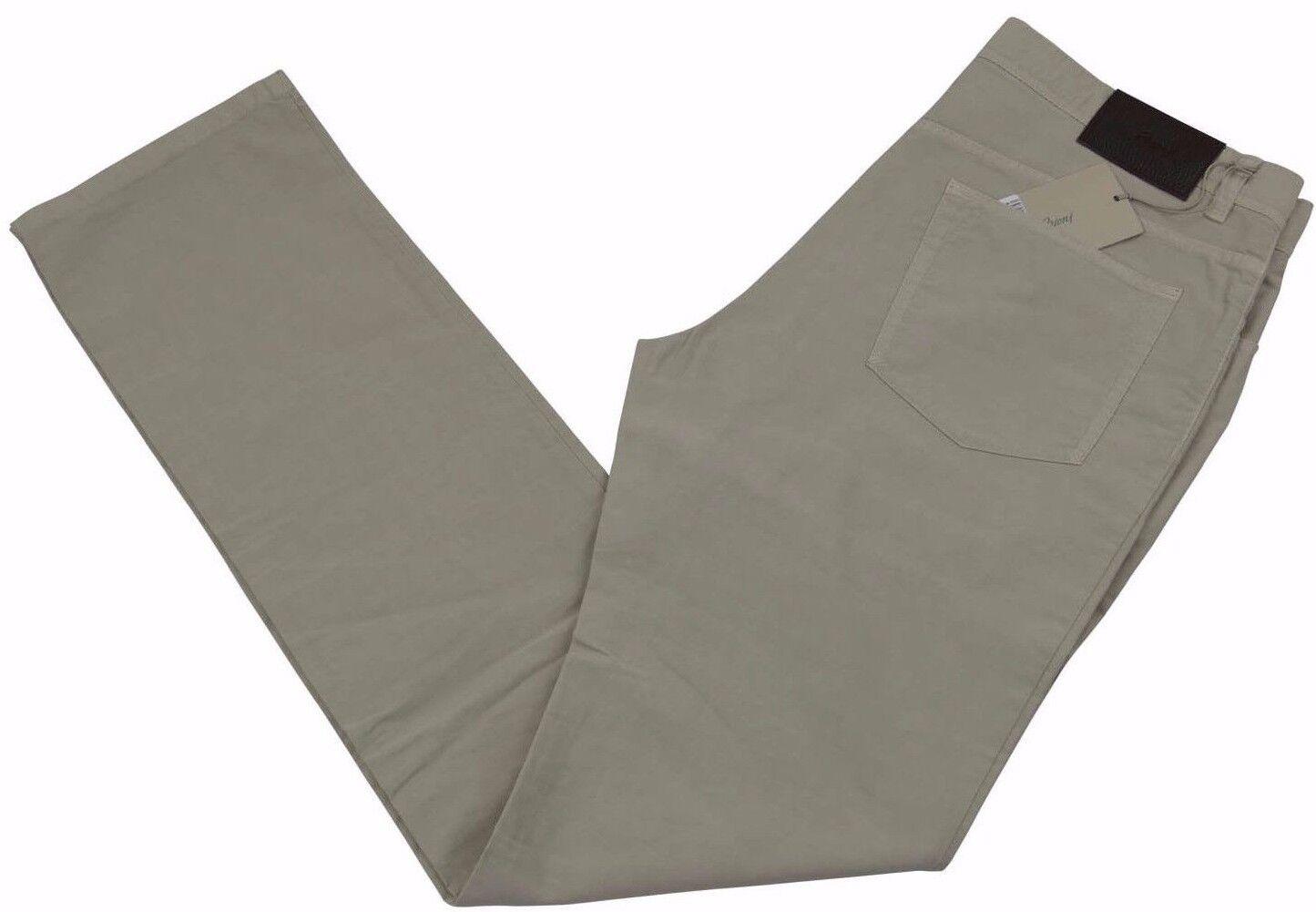 Brioni Livigno Jeans Handmade in  BNWT Luxury Beige Size 38