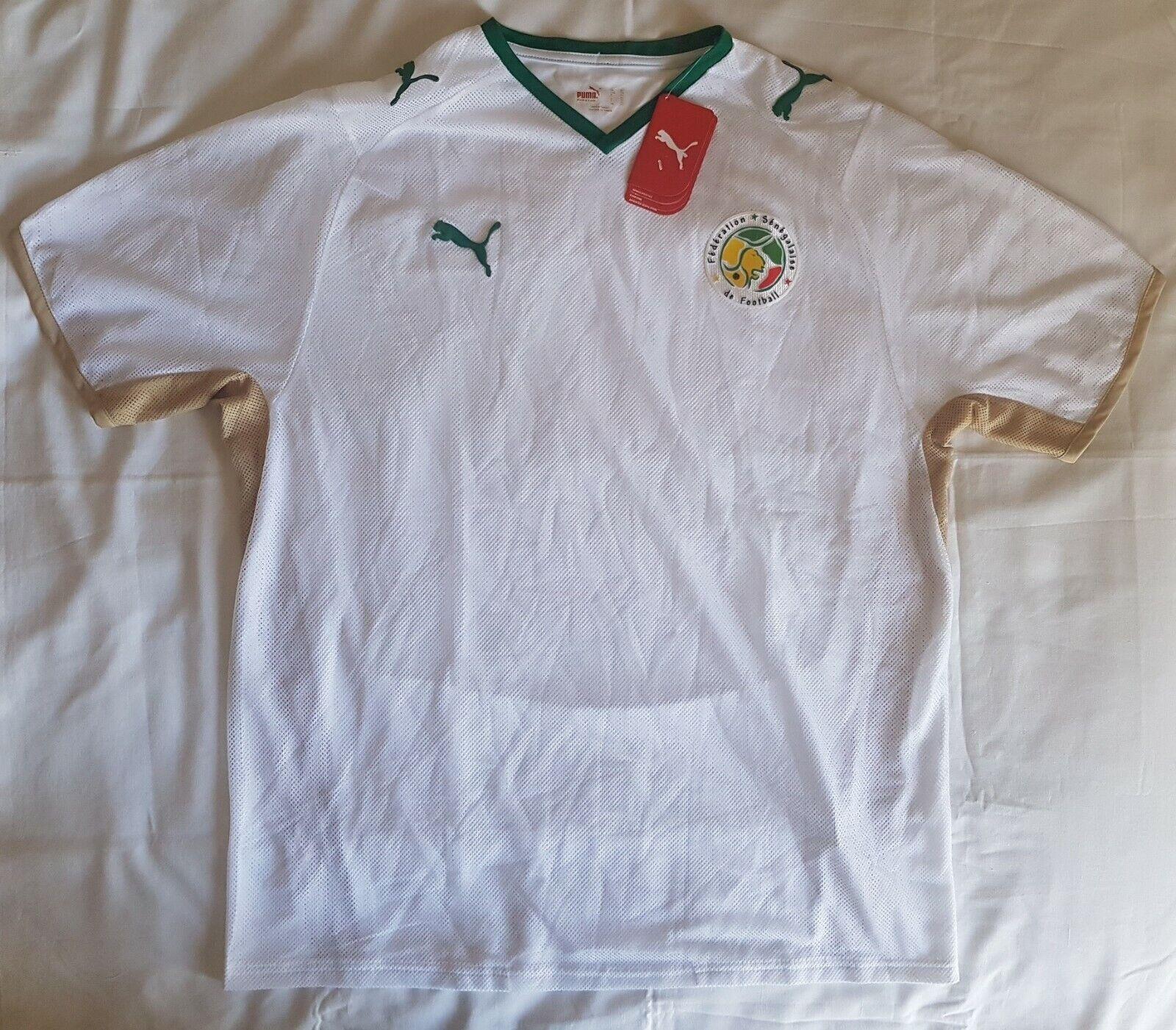 f5569d839ce Senegal 2007 - 2009 home football shirt soccer jersey