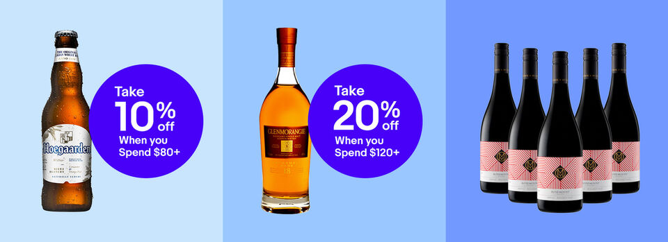 Use Code PWINETIME - Up to 20% off* Your Favourite Liquor & More