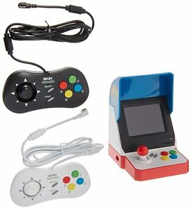 Neogeo Mini Pro Player Pack USA Version - Includes 2 Game Pads & HDMI Cable