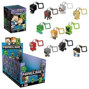 JINX-Minecraft-Bobble-Mobs-Key-Chain-Blind-Box-One-Mystery-Figure-Series-1-NEW
