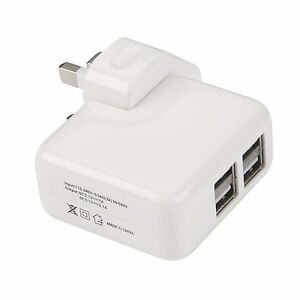 HOT-4-Ports-USB-Multi-Adapter-Travel-Wall-AC-Power-Charger-with-UK-Plug-White